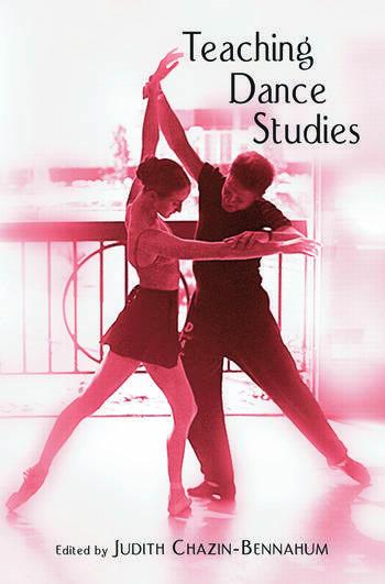 Teaching Dance Studies book cover
