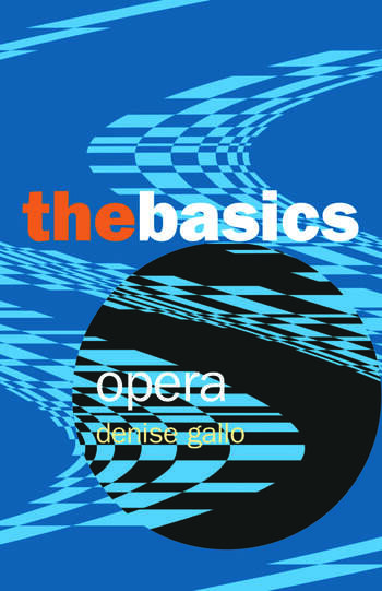 Opera: The Basics book cover