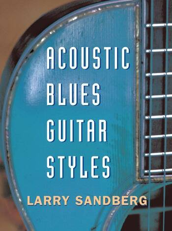 Acoustic Blues Guitar Styles book cover