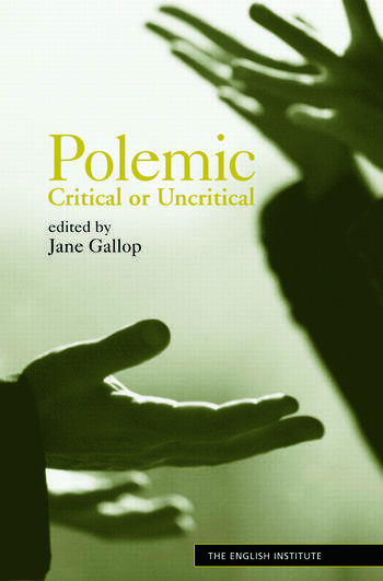 Polemic Critical or Uncritical book cover