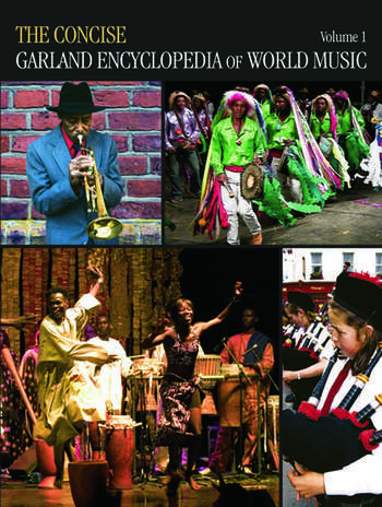 The Concise Garland Encyclopedia of World Music book cover