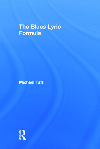 The Blues Lyric Formula book cover