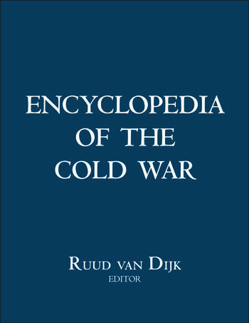 Encyclopedia of the Cold War book cover