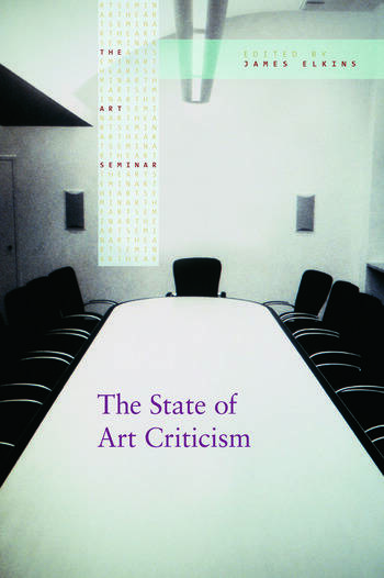 The State of Art Criticism book cover