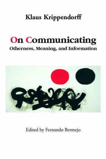 On Communicating Otherness, Meaning, and Information book cover