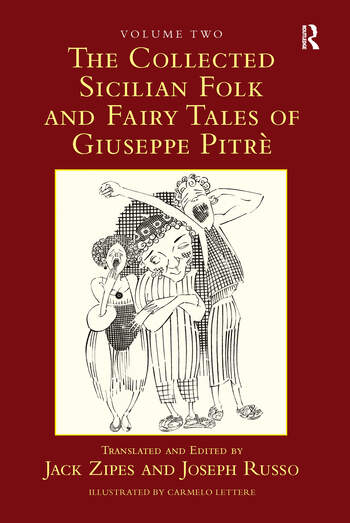 The Collected Sicilian Folk and Fairy Tales of Giuseppe Pitré book cover