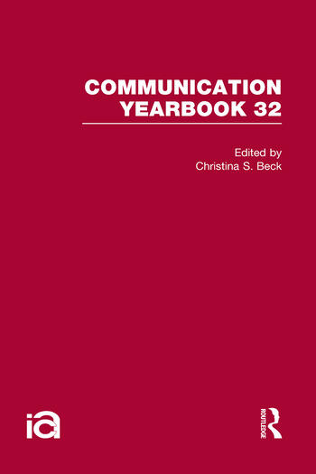 Communication Yearbook 32 book cover