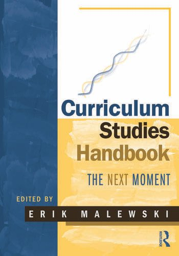 Curriculum Studies Handbook - The Next Moment book cover