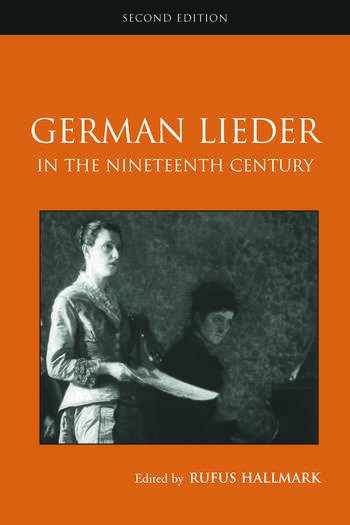 German Lieder in the Nineteenth Century book cover