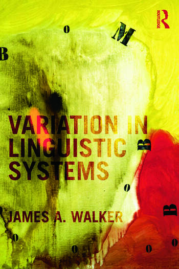 Variation in Linguistic Systems book cover