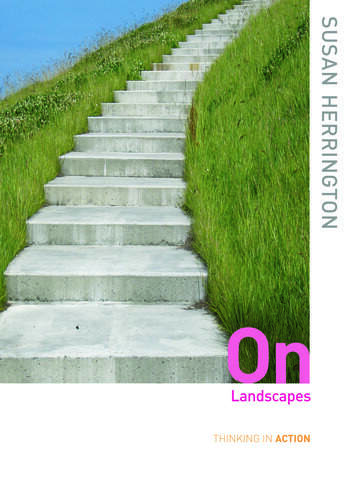 On Landscapes book cover