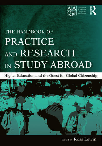 The Handbook of Practice and Research in Study Abroad Higher Education and the Quest for Global Citizenship book cover