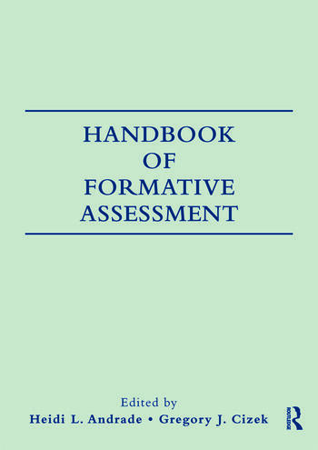 Handbook of Formative Assessment book cover