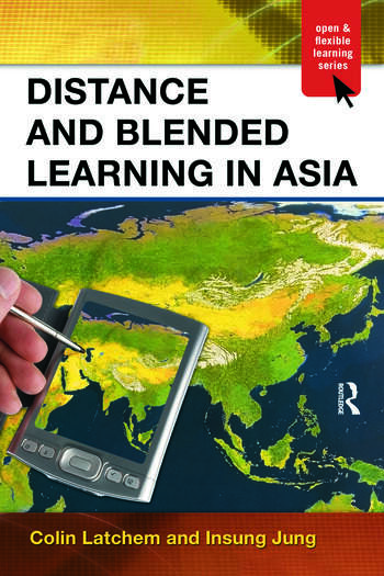 Distance and Blended Learning in Asia book cover