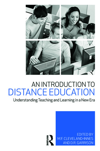 An Introduction to Distance Education Understanding Teaching and Learning in a New Era book cover