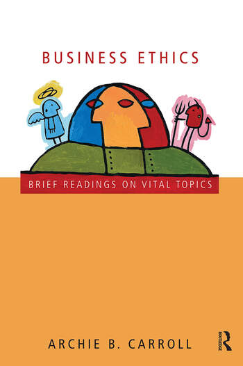 Business Ethics Brief Readings on Vital Topics book cover