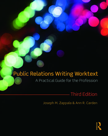 Public Relations Writing Worktext A Practical Guide for the Profession book cover