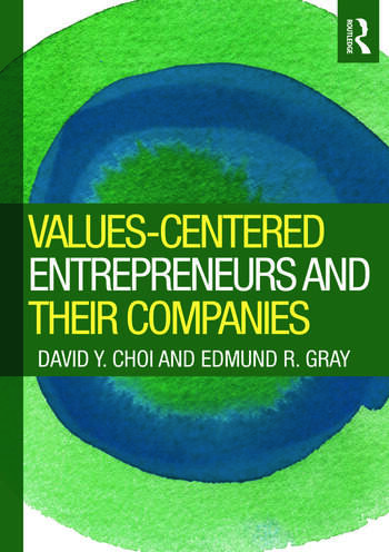 Values-Centered Entrepreneurs and Their Companies book cover