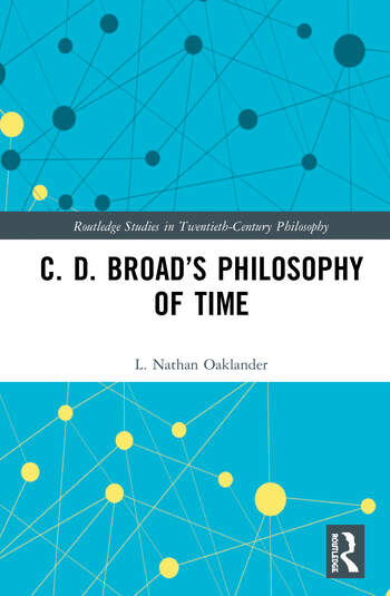 C. D. Broad's Philosophy of Time book cover