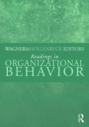 Readings in Organizational Behavior book cover