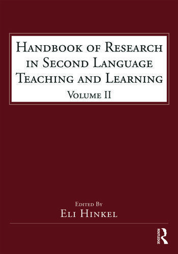Handbook of Research in Second Language Teaching and Learning Volume 2 book cover