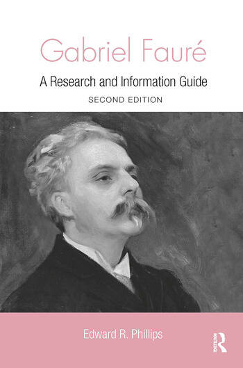 Gabriel Faure A Guide to Research book cover