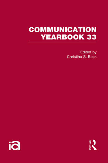 Communication Yearbook 33 book cover