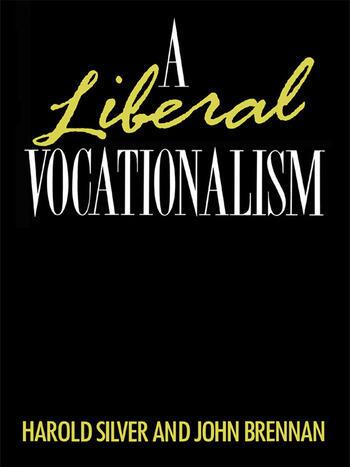 A Liberal Vocationalism book cover