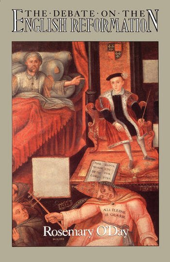 The Debate on the English Reformation book cover