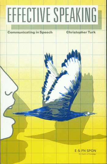 Effective Speaking Communicating in Speech book cover