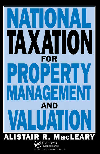 National Taxation for Property Management and Valuation book cover