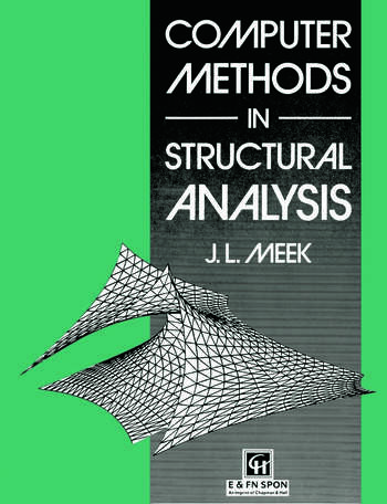 Computer Methods in Structural Analysis book cover