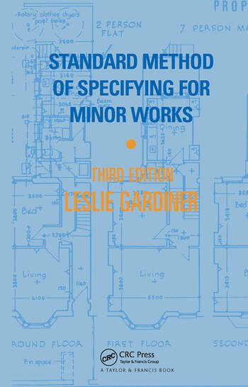 Standard Method of Specifying for Minor Works book cover