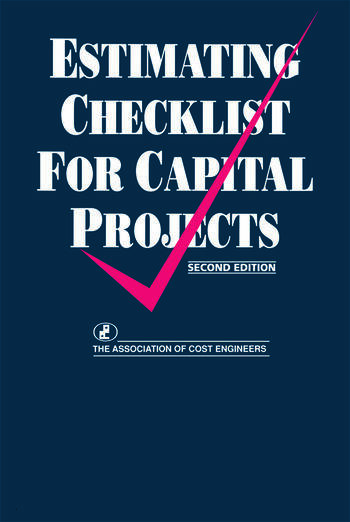 Estimating Checklist for Capital Projects book cover