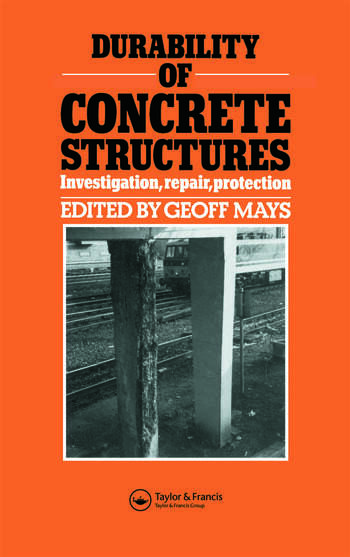 Durability of Concrete Structures Investigation, repair, protection book cover