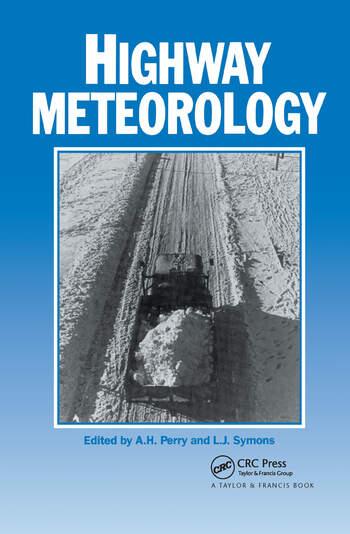 Highway Meteorology book cover