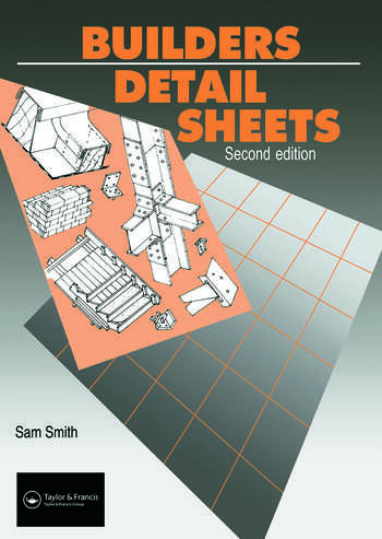 Builders' Detail Sheets book cover
