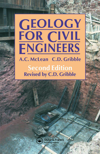 Geology for Civil Engineers book cover