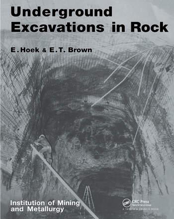Underground Excavations in Rock book cover