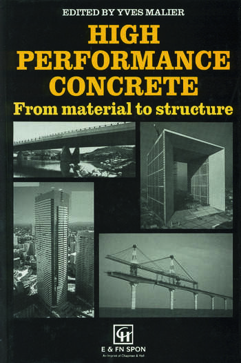 High Performance Concrete From material to structure book cover