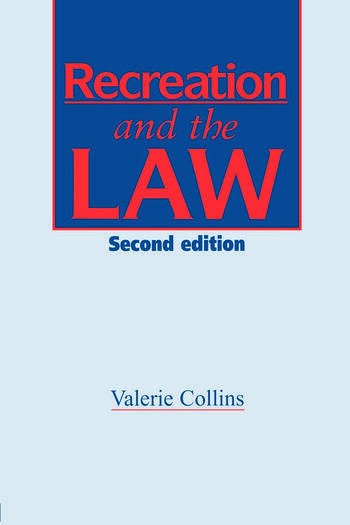 Recreation and the Law book cover
