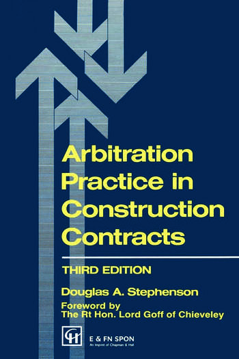 Arbitration Practice in Construction Contracts book cover