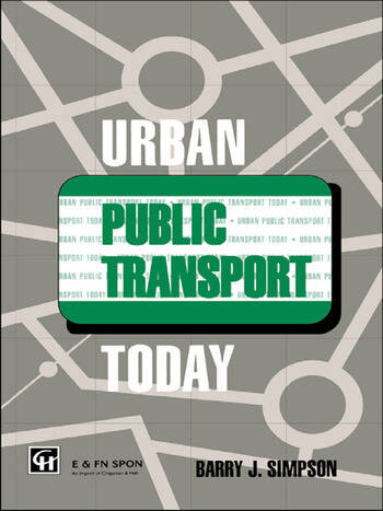 Urban Public Transport Today book cover
