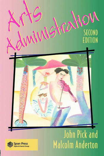 Arts Administration book cover
