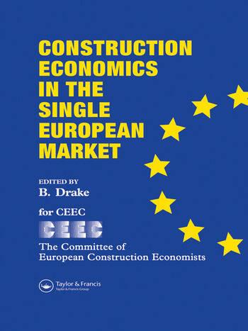 Construction Economics in the Single European Market book cover
