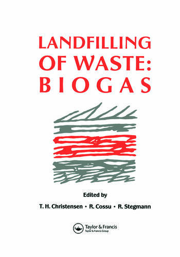 Landfilling of Waste Biogas book cover