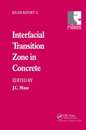 Interfacial Transition Zone in Concrete book cover