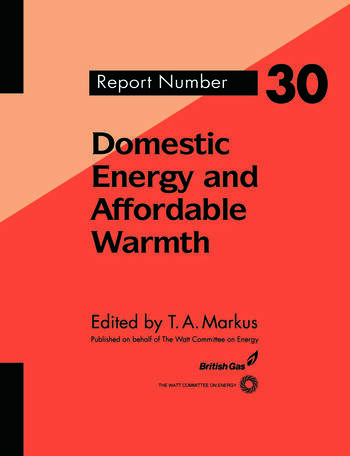 Domestic Energy and Affordable Warmth book cover