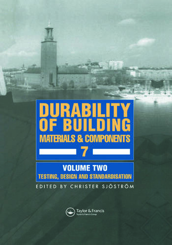 Durability of Building Materials and Components 7 Proceedings of the seventh international conference book cover