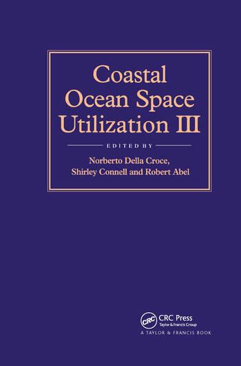 Coastal Ocean Space Utilization 3 book cover